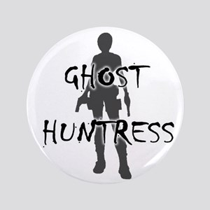 """Ghost Huntress 3.5"""" Button"""