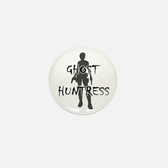 Ghost Huntress Mini Button