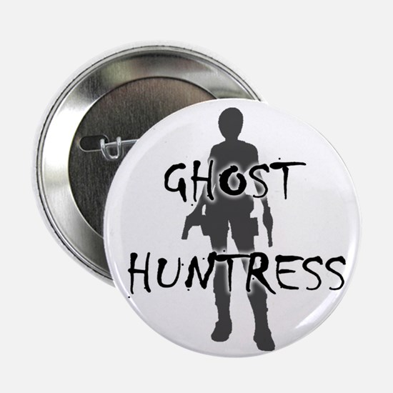 """Ghost Huntress 2.25"""" Button (10 pack)"""