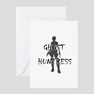 Ghost Huntress Greeting Card