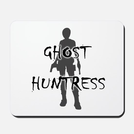 Ghost Huntress Mousepad