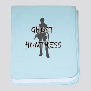 Ghost Huntress baby blanket