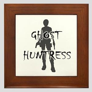 Ghost Huntress Framed Tile
