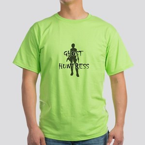 Ghost Huntress Green T-Shirt