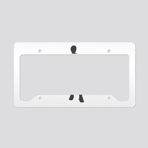Ghost Huntress License Plate Holder
