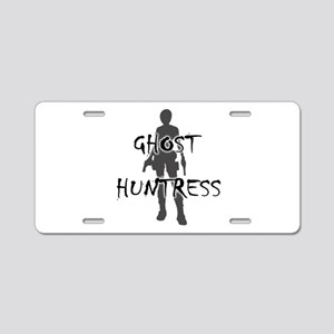 Ghost Huntress Aluminum License Plate
