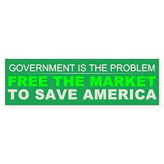 Free The Market Sticker (Bumper 50 pk)
