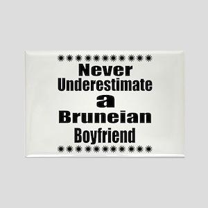 Never Underestimate A Bruneian Bo Rectangle Magnet