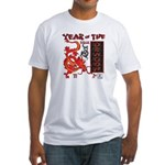 Year of the Dragon - Chinese New Year Fitted T-Shi