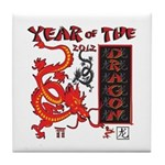 Year of the Dragon - Chinese New Year Tile Coaster