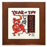 Year of the Dragon - Chinese New Year Framed Tile
