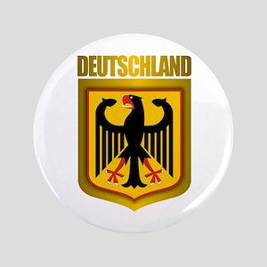 """""""Deutschland Gold"""" 3.5"""" Button"""