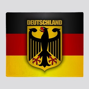 """Deutschland Gold"" Throw Blanket"