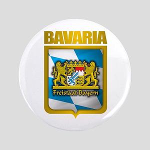 """Bavarian Gold"" 3.5"" Button"