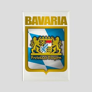 """Bavarian Gold"" Rectangle Magnet"