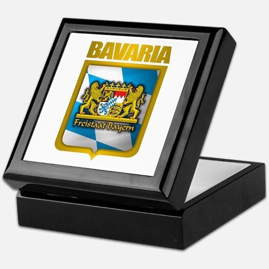"""""""Bavarian Gold"""" Keepsake Box"""
