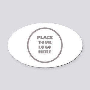 Personalized Logo Oval Car Magnet