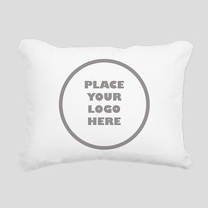 Personalized Logo Rectangular Canvas Pillow