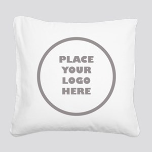 Personalized Logo Square Canvas Pillow