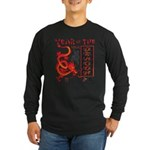 Chinese Year of the Dragon Long Sleeve Dark T-Shir