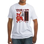 Chinese Year of the Dragon Fitted T-Shirt
