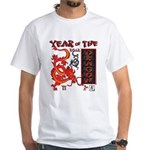 Chinese Year of the Dragon White T-Shirt