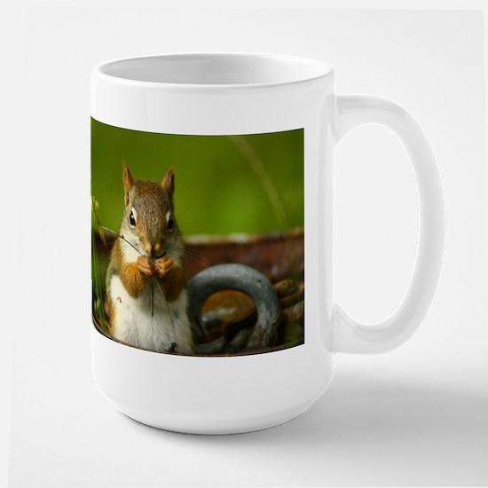 Baby Squirrel Large Mug
