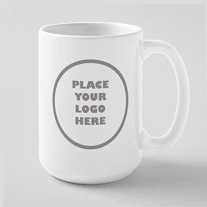 Personalized Logo 15 oz Ceramic Large Mug