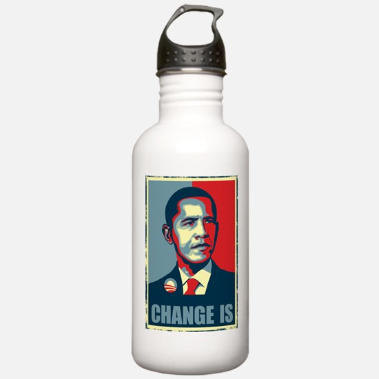 Obama - Change Is Water Bottle