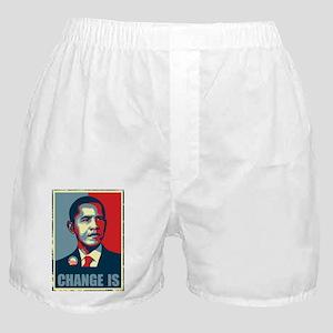 Obama - Change Is Boxer Shorts