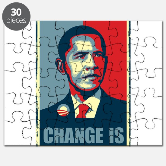 Obama - Change Is Puzzle