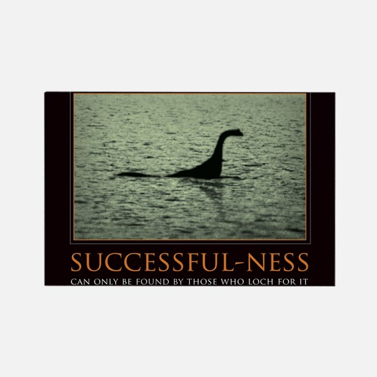 Cute Loch ness monster Rectangle Magnet