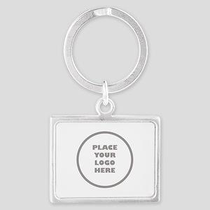 Personalized Logo Landscape Keychain