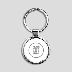 Personalized Logo Round Keychain