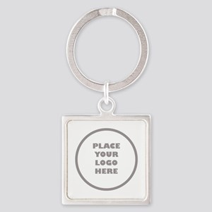 Personalized Logo Square Keychain