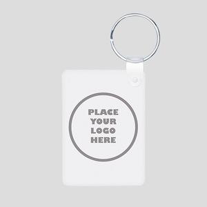 Personalized Logo Aluminum Photo Keychain