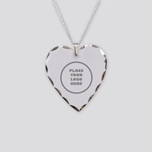 Personalized Logo Necklace Heart Charm