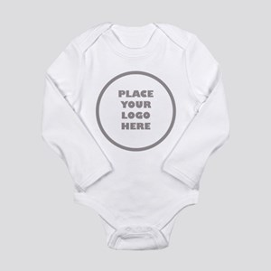 Personalized Logo Long Sleeve Infant Bodysuit