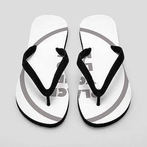 Personalized Logo Flip Flops
