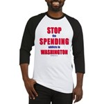 Stop Spending Baseball Jersey