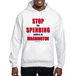 Stop Spending Hooded Sweatshirt