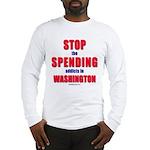 Stop Spending Long Sleeve T-Shirt