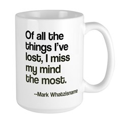 Lost Mind Large Mug Mugs