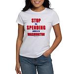Stop Spending 2-sided Women's T