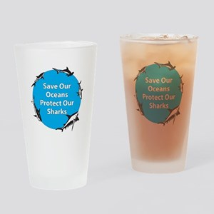 Save Our Oceans. Protect Our Drinking Glass