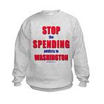 Stop Spending Kids Sweatshirt