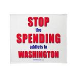 Stop Spending Throw Blanket