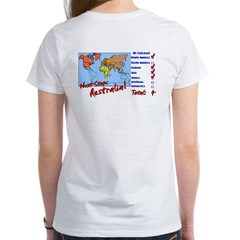 Continents Visited Women's T-Shirt