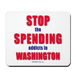 Stop Spending Mousepad