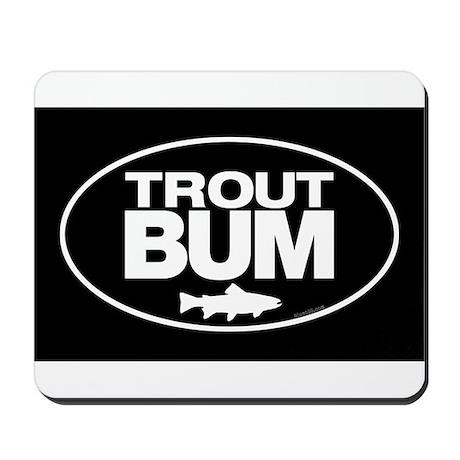 Trout Bum Mousepad Mousepad